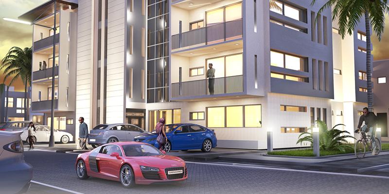 3 Bed Grenadine Luxurious Apartments, Lekki