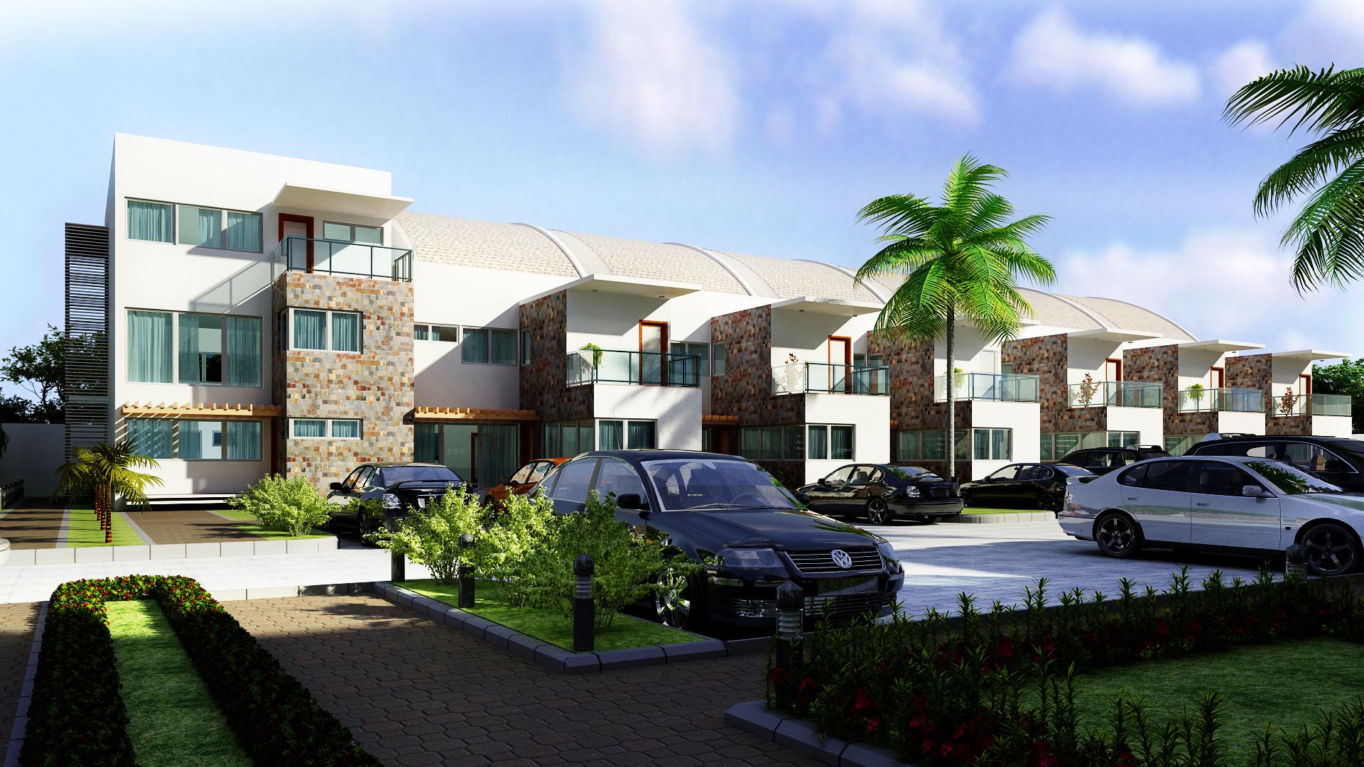 3 Bed luxury Terrace plus maids quarter – Peace Court Lekki
