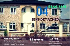 Flagship Deluxe Semi Detached Duplex – Lekki