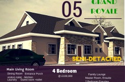 Grand Royale Deluxe Semi Detached Duplex – Lekki