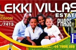 Land – Lekki Villas Estate Phase 1 (spread payment)