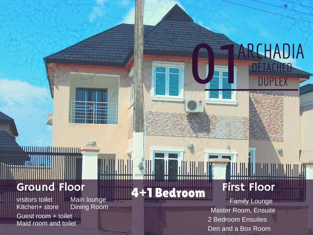 Arcadia Deluxe Detached Duplex – Lekki