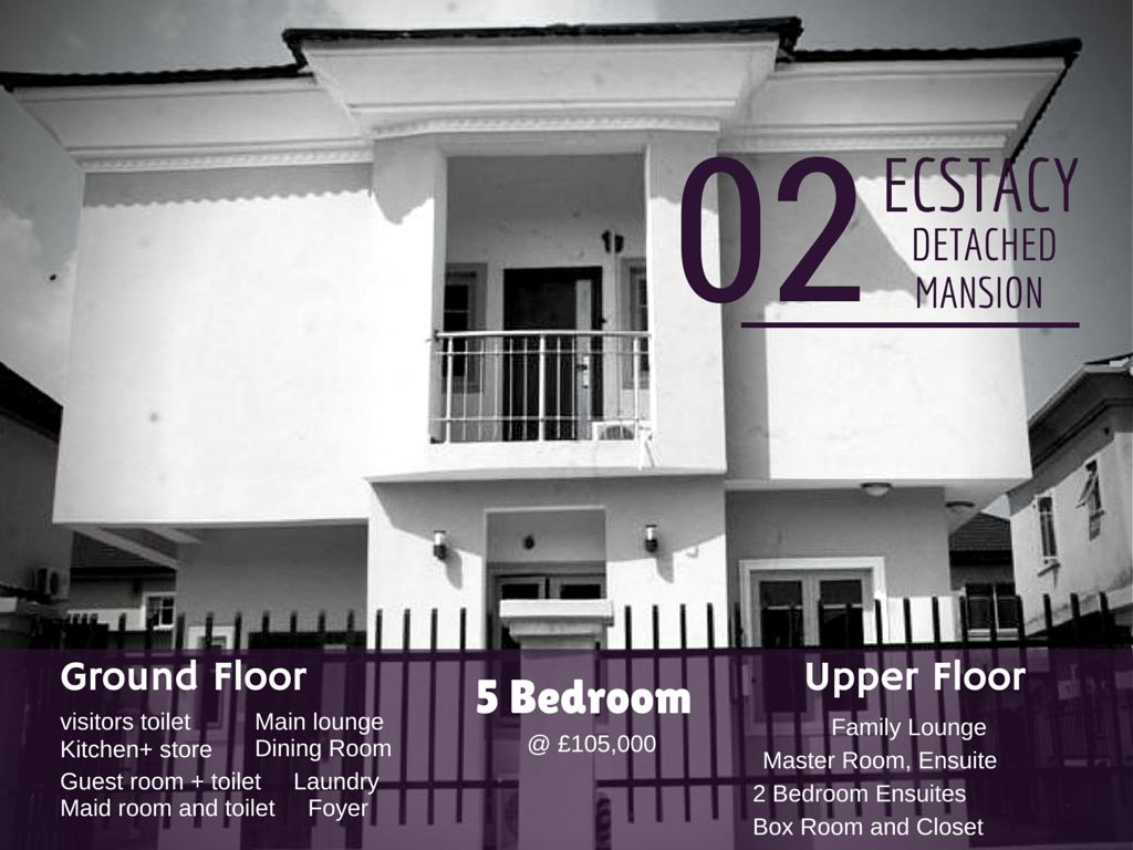 Ecstacy Deluxe Detached Duplex – Lekki