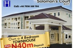 4 BEDROOM DELUXE TERRACE, Parkview estate, Ikoyi Lagos