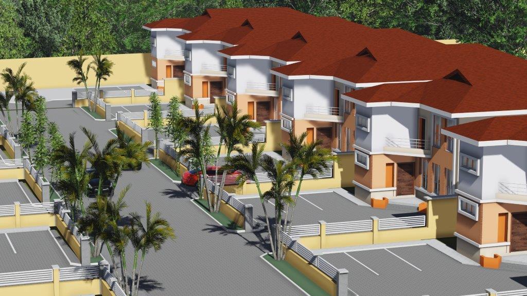 Alexander Miller Lekki's luxury Detached Mansions