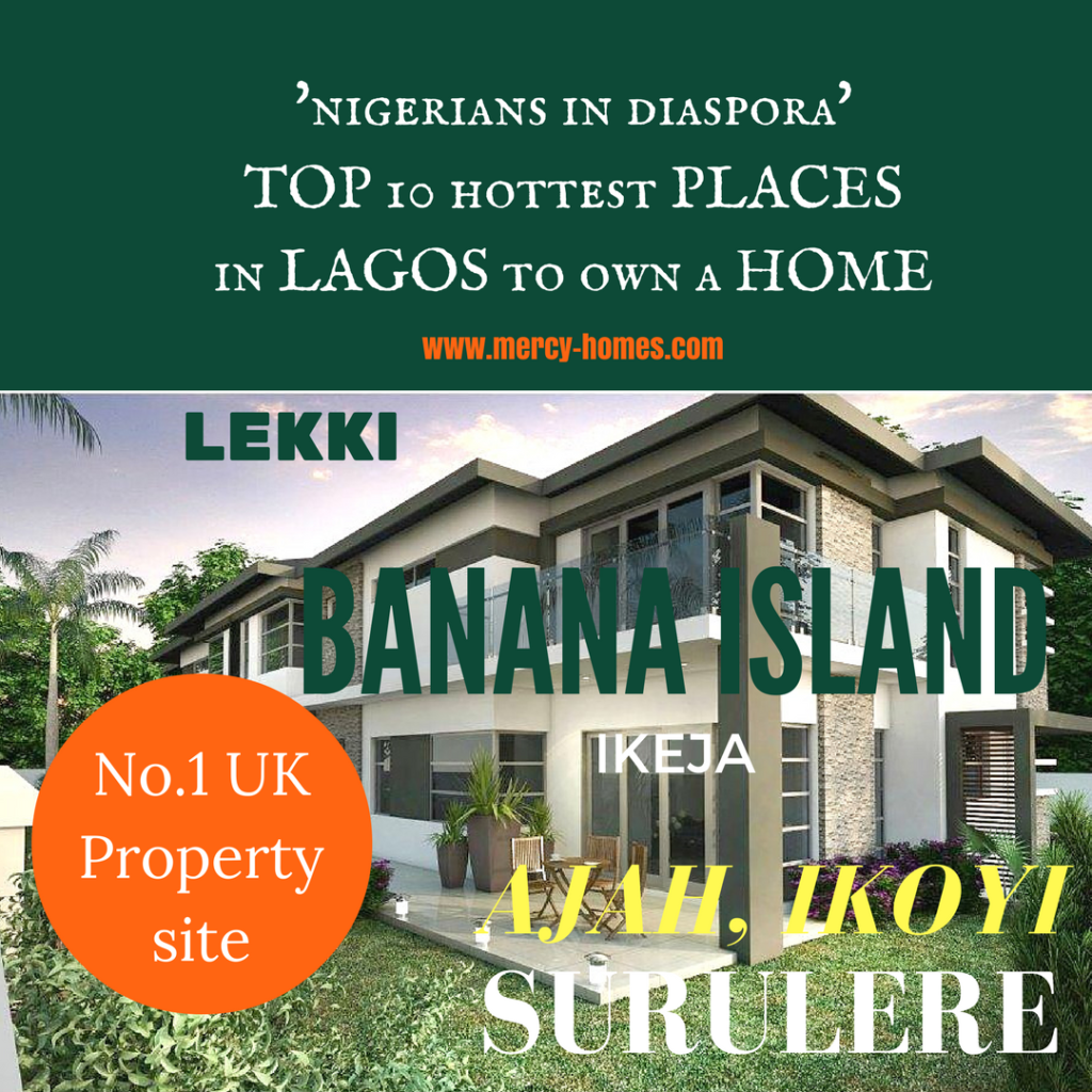 HOTTEST PLACES TO BUY HOMES IN LAGOS