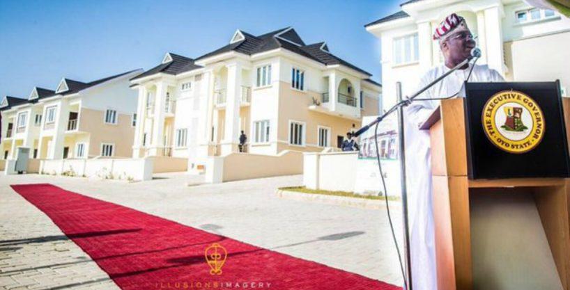 UPDC Olive Court estate – 3 Bed Terrace Houses, Agodi GRA