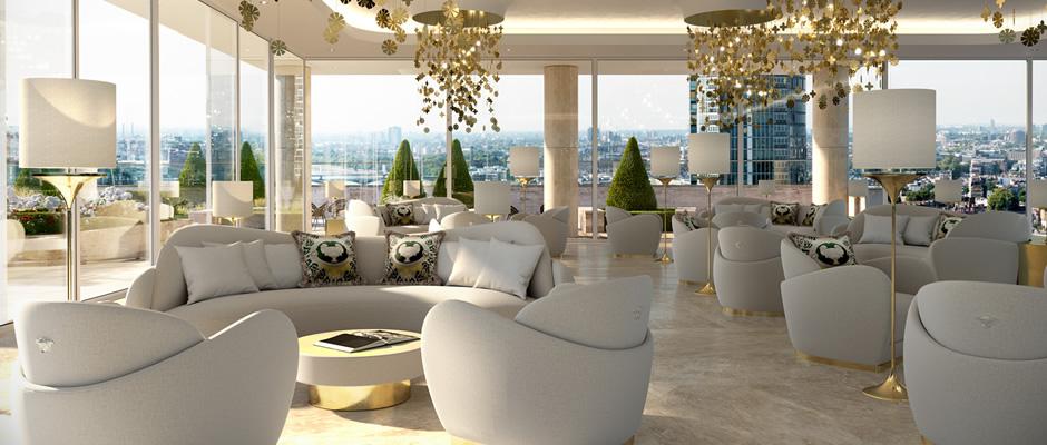 Aykon London One Versace Luxury 2 Bedroom Millionaire Apartment