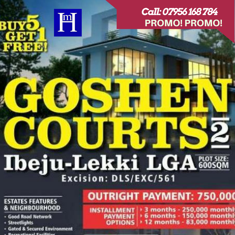 SUMMER PROMO! LEKKI IBEJU LAND @ £1.5K PER PLOT